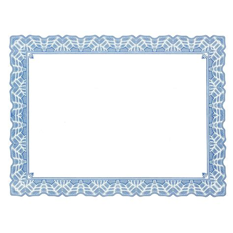 certificate border templates  word