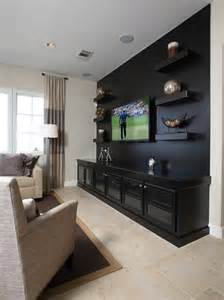 TV Media Room Wall Designs