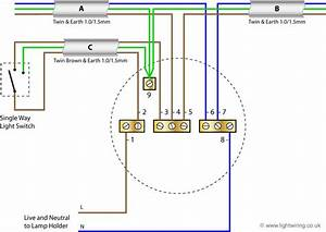 Home Lighting Circuit Diagram