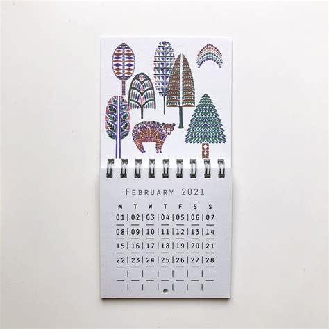 mini wall calendar christmas gifts