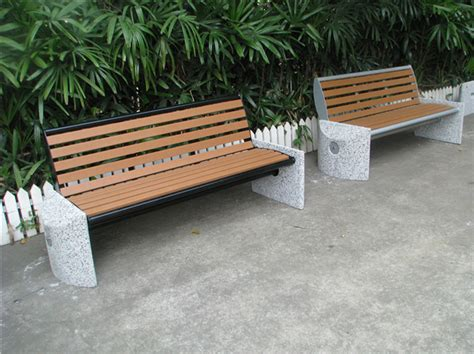 kayu plastik daur ulang luar ruangan concrete stone taman
