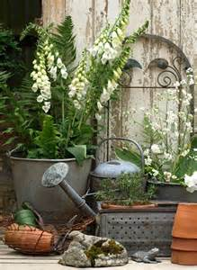 vintage outdoor decor gardening