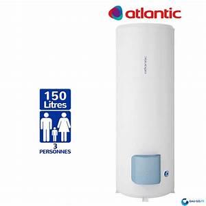 Chauffe Eau Atlantic Zeneo Aci Hybride : chauffe eau electrique 150l atlantic z n o vertical sur socle ~ Premium-room.com Idées de Décoration