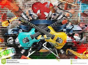Collage Of Music Stock Photo  Image Of Player  Idea  Stereo