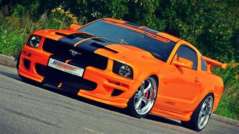 orange black ford mustang gt    oneee cars