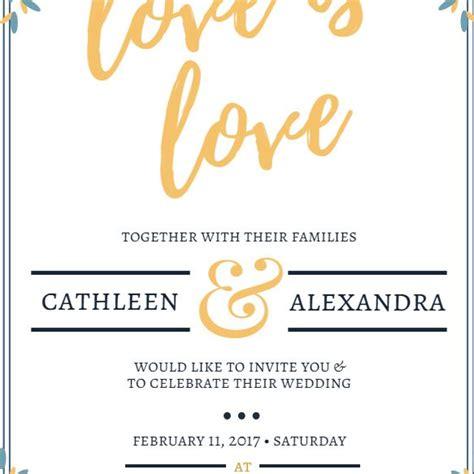 wedding invitation maker  printable wedding