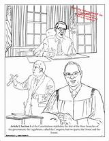 Constitution Coloring Activity Workbook Coloringbook sketch template