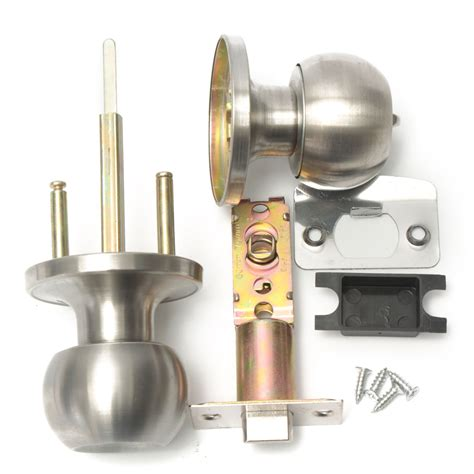 door knob with lock stainless steel bathroom door knob set handle