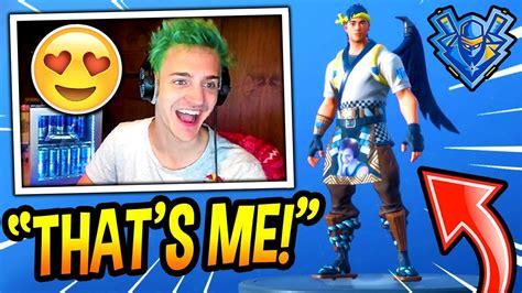Ninja Reacts To His *modded* Ninja Skin! (playing As Ninja