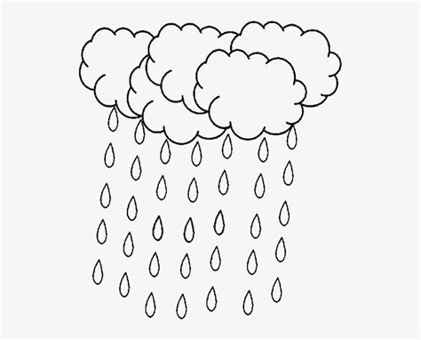 raindrop clipart colouring page raindrop colouring page