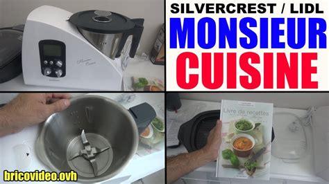 lidl recettes de cuisine monsieur cuisine lidl silvercrest plus livre recette skmh