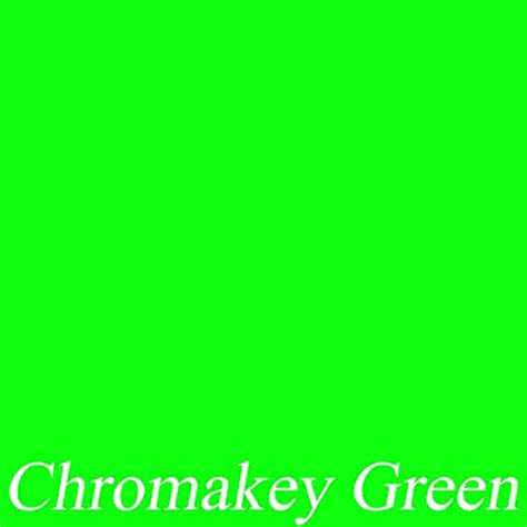 green chroma key muslin