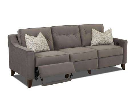 Modern Recliner Loveseat by Contempory High Leg Power Recliner By Trisha Yearwood Home