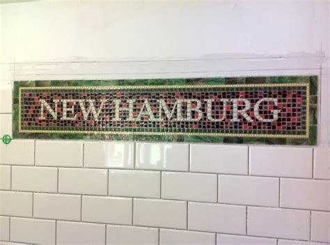 Tile Installer Nyc by Nyc Subway Mosaic Tile Install For Bathroom Kitchen