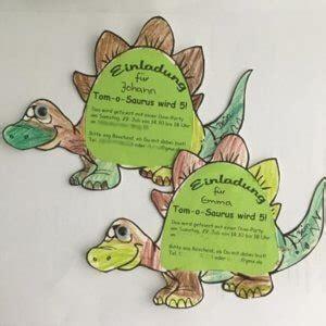 ideen fuer eine dinosaurier kindergeburtstagsparty