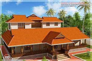2231 sq feet Kerala illam model traditional house - Kerala