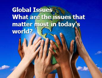 Global Issues Powerpoint Presentation