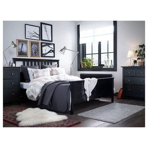 ikea hemnes bed frame black brown espevaer products