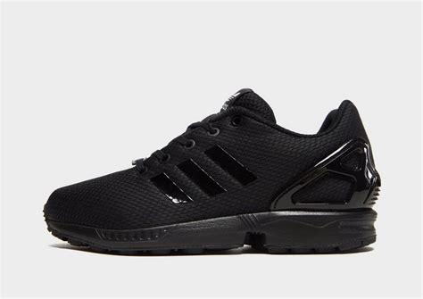 shop den adidas originals zx flux kinder  schwarz jd