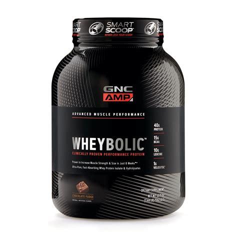 GNC AMP Wheybolic Whey Protein Powder - Chocolate Fudge