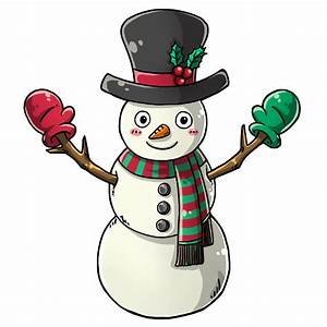 Cute snowman graphics and animations clipart - Clipartix