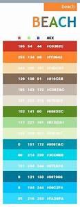 Code Couleur Pantone : beach in hex and rgb code beach colors for the bathroom colors to live by farbpalette ~ Dallasstarsshop.com Idées de Décoration