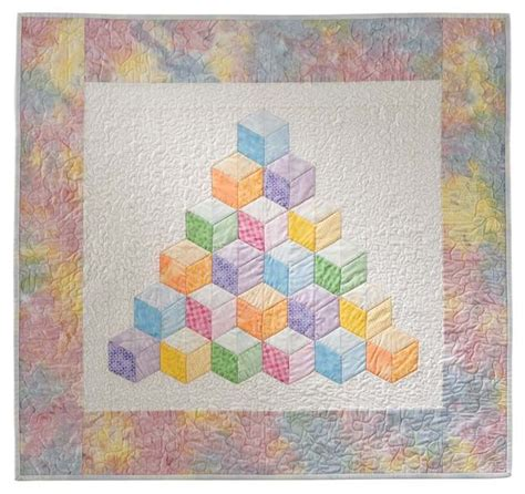 tumbling block quilt pattern template 25 best ideas about tumbling blocks on pinterest quilt