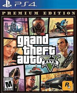 Grand Theft Auto V: Premium Edition PlayStation 4 57032 - Best Buy