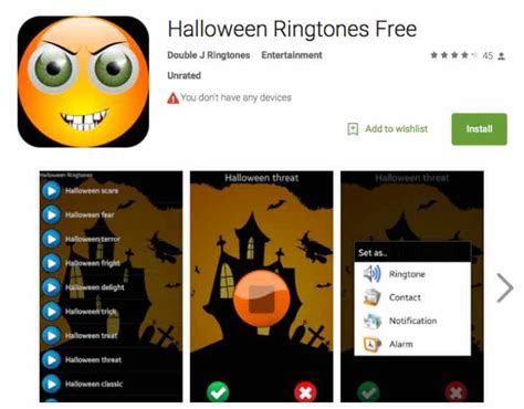 Free Halloween Ringtones With These Android 2015 Apps