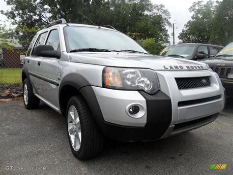 Zambezi Silver Metallic 2004 Land Rover Freelander Hse