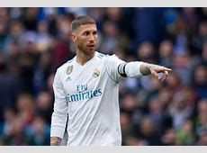 Sergio Ramos could be suspended for the opening leg of the