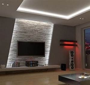 wohnzimmer fascia house pinterest tvs living With lcd wall designs living room