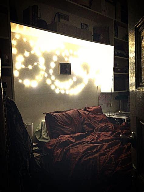no stress string of lights diy bedroom bedroom