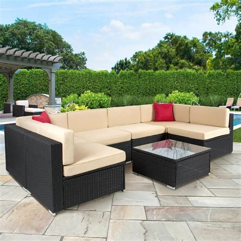 patio seating sets 72 comfy backyard furniture ideas