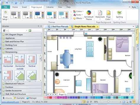 home plan software  examples