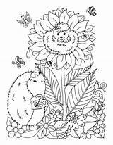 Hedgehogs Popandthistle sketch template