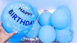 all blue balloons popping birthday balloon pop balloon