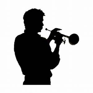 Second Life Marketplace - Trumpet Player Silhouette