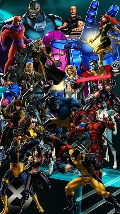 Dc Marvel Wallpapers Smartphone Characters Comics Villains