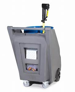 Mobile Pump System For Acids    Chemicals  With Drum