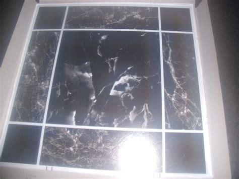 gloss finish vinyl floor tiles  adhesive mm  mm marble effect tjtilescouk