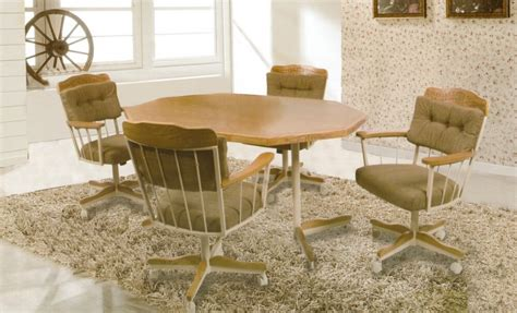 casual dining chairs with casters chairs model
