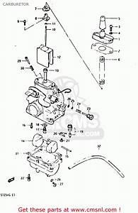 Suzuki Ts125xu 1986  G  United Kingdom  E02  Carburetor