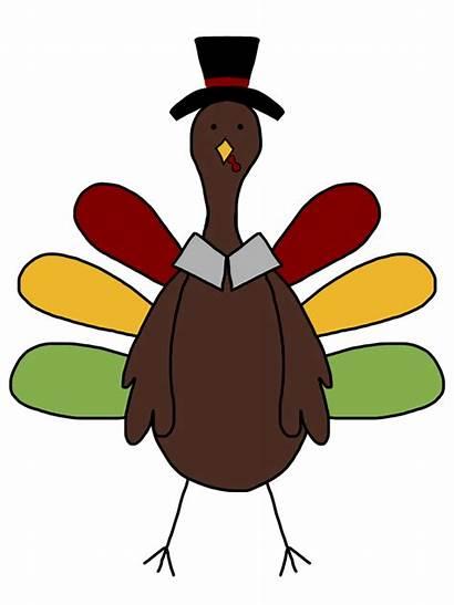 Turkey Clipart Thanksgiving Clip Cartoon Funny Wild