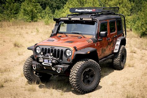 jeep accessories new at summit racing rugged ridge parts and accessories