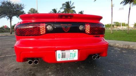 Sell Used Pontiac Firebird Trans Speed