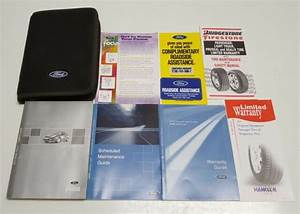 2002 Ford Focus Owners Manual Base Se Lx Zx5 Zx3 Zwt Zts