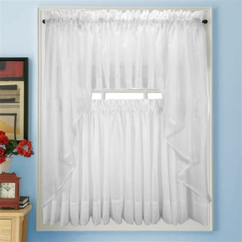 White Sheer Kitchen Curtains by Small Bathroom Curtain Ideas White Sheer Kitchen Kitchen