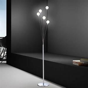 Wohnzimmer Lampe Modern : wohnzimmer stehlampe modern wohnzimmer stehlampe chrom leselampe deko inkl dimmer lampe licht ~ Indierocktalk.com Haus und Dekorationen