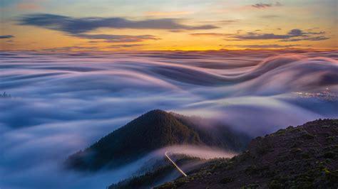 Flowing Clouds - Bing Wallpaper Download